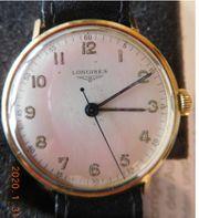 Herren Gold Armbanduhren Longines Tanis