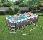 Bestway Steelframe Pool 404x201x100 Filterpumpe