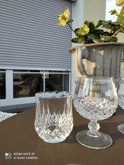 Gläser Kristall Cognac und Whisky