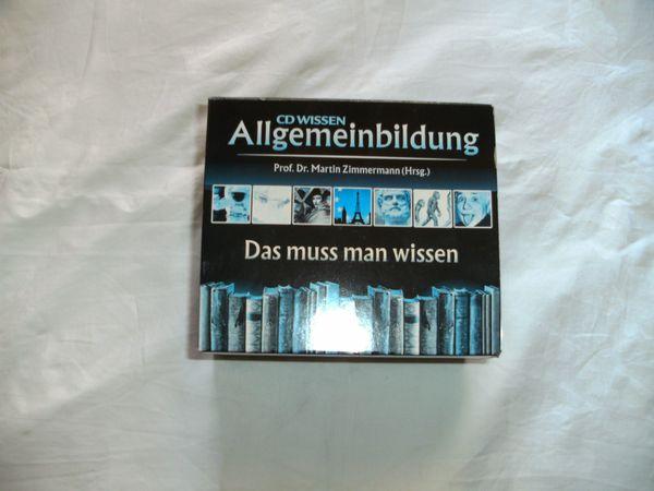 Allgemeinbildung CD Box Wissen