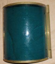 Blaues Glas Glaseinsatz für Positionslaterne