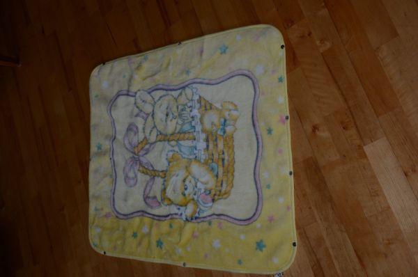 Babydecke mit Reißverschluss Babyschlafsack