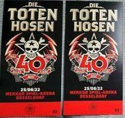 2 Tickets Die toten Hosen