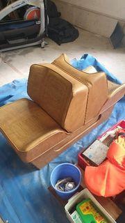Boot Sitze Leder von 1979