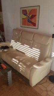Wohnzimmer Couch Garnitur 2 Ledersell