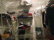 Regal für begehbaren Kleiderschrank