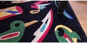 Schwerer indischer Schurwool-Design-Teppich