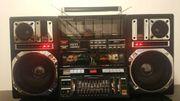 INTERSOUND J-747S Stereo Boombox Ghettoblaster