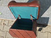 Sitzbox sitzhocker mit stauraum mit