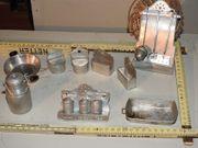 Altes Puppenküchenzubehör Metall aus Oma