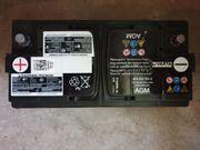 Autobatterie Varta AGM 12V 92
