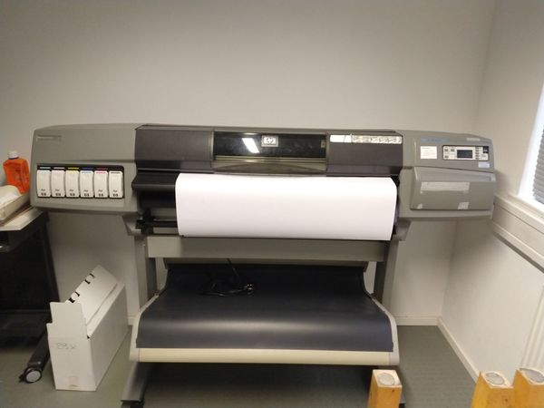 Plotter Großformatdrucker hp designjet 5500