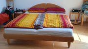 Bett Massivholz Buche 160 x