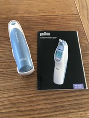 Braun Thermoscan Thermometer IRT 4520