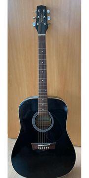 Western gitarre peavey mit tasche