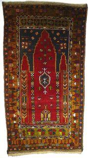 Sammlerteppich Konya 224x118 antik T086