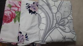 3 Stück Bettwäsche div Muster