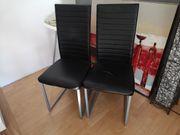 Kunstleder Stühle 2 Stück