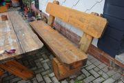 Holzbank massiv 200 cm