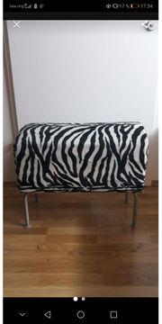 Hocker Zebramuster
