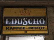Eduscho Werbeschild zum Beleuchten