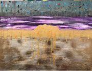 Handgemalt Kunst Gemälde Acryl oils