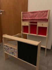 Kaufladen für Kinder aus Holz