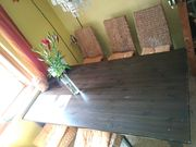 Tisch mit 6 Stühle günstig