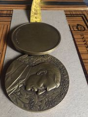 Sammler Medaille von Neville Chamberlain