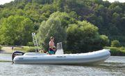 Sportboot Rib Festrumpfschlauchboot Schlauchboot Boot