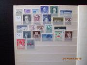 Briefmarkensammlung Österreich 1956 - 2001