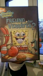 Spongebob DVDs