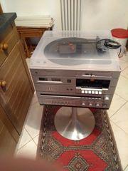 Anlage Radio Kasetten CD und