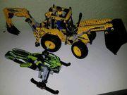 Lego Technik 2 Sachen zusammen