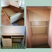 Jugendzimmer Möbel 2-teilig