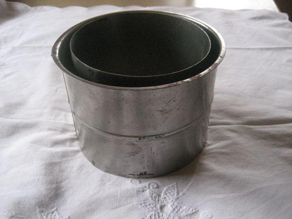 Ofenrohr - Wandfutter doppelt 160 mm