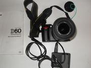 Nikon D 60 DSLR Kamera