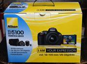 Nikon D 5100 mit Zoom