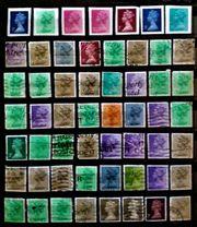 Briefmarken Queen England