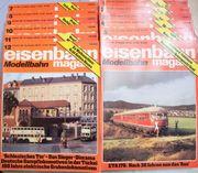 Eisenbahn Magazin Modellbahn Januar-Dezember 1982