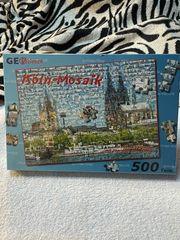 Mosaik Puzzle 2 stk neu