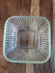 GlasschüsselGlasdoseBreite 16cmHöhe 10cmDurchmesser 19cmShabby ChicShabby-LookNichtraucherhau