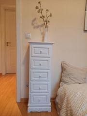 Schubladen-Schrank weiß Holz