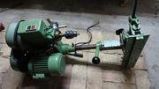 Fräs- Bohrmaschine- Höhe Seiten und