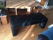 moderne Sitzbank aus Leder