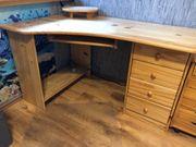 Schreibtisch Holz Behandelt