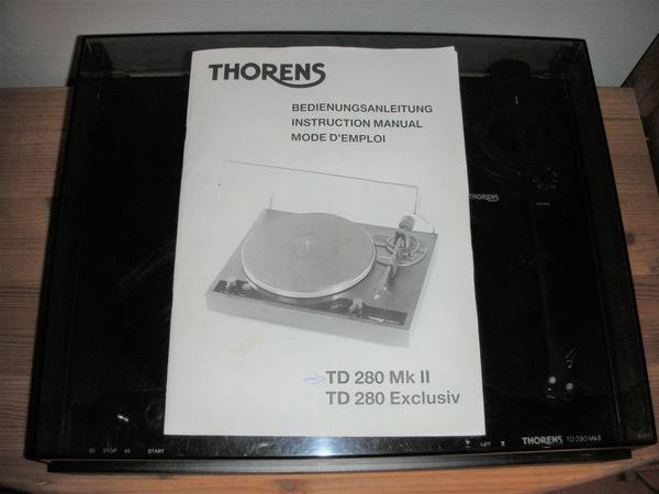 Thorens Schallplattenspieler TD 280 MK