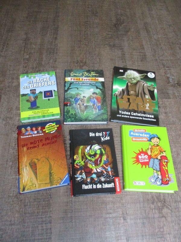 verschiedene Kinder- Jugendbücher für Jungen