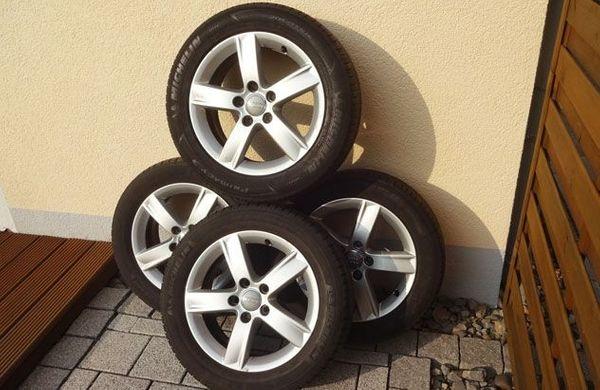 Audi A3 - original Alufelgen Michelin