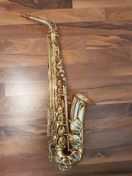 Blasinstrumente - Neuwertiges Jupiter Alt-Saxophon Dirko Juchem